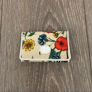 Vintage gucci floral key holder
